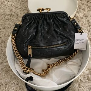 Marc Jacobs Little Stam Black Quilted Bag - NWT